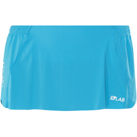 Salomon S/Lab Hardloop Shorts Dames blauw
